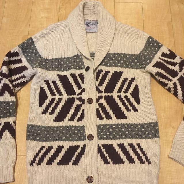 Men's knit sweater/cardigan by Topman