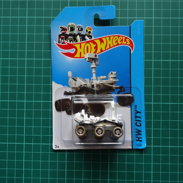 MISB Hot Wheels Mars Rover Curiousity