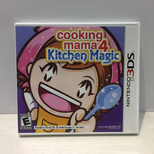 Nintendo 3DS Game: Cooking Mama 4 Kitchen Magic