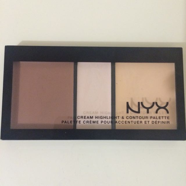NYX Cream Highlight & Contour Palette (CHCP01 LIGHT)