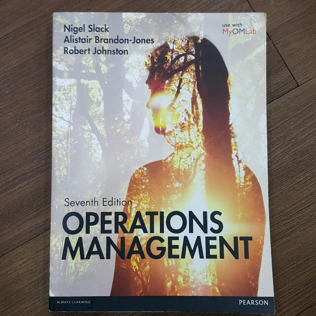 Operations Management 7th Edition - Pearson