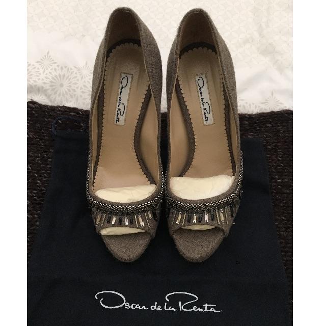 oscar de la renta heels size 36