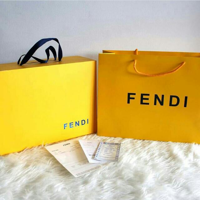 Papper Bag & Box Fendi