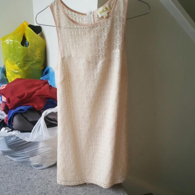Peach Dress From Jane Cooper