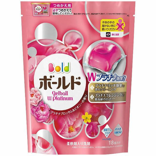 (新包裝)P&G 花香洗衣膠球-典雅牡丹 18入