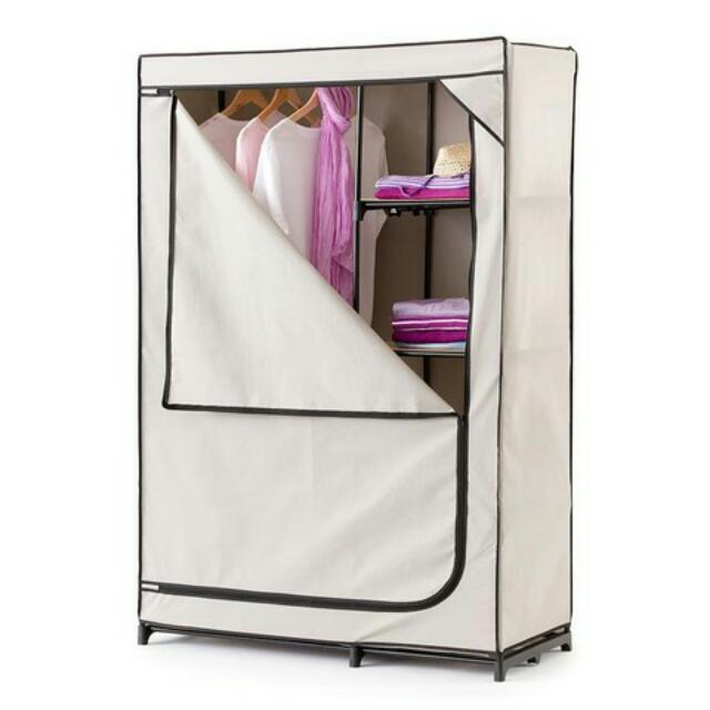 Portable Wardrobe with Cover
