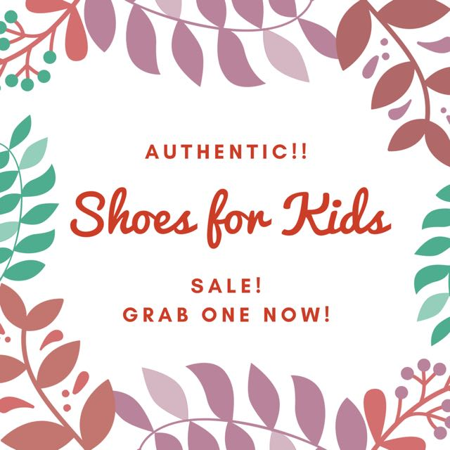 SANDALS FOR KIDS FOR SALE ON MY PROFILE RIGHT NOW!