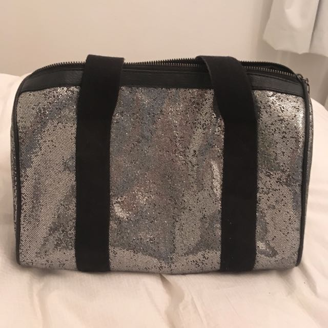 Sequinned Mini Duffle Bag