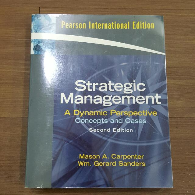 Strategic Management 2nd Edition - Pearson International