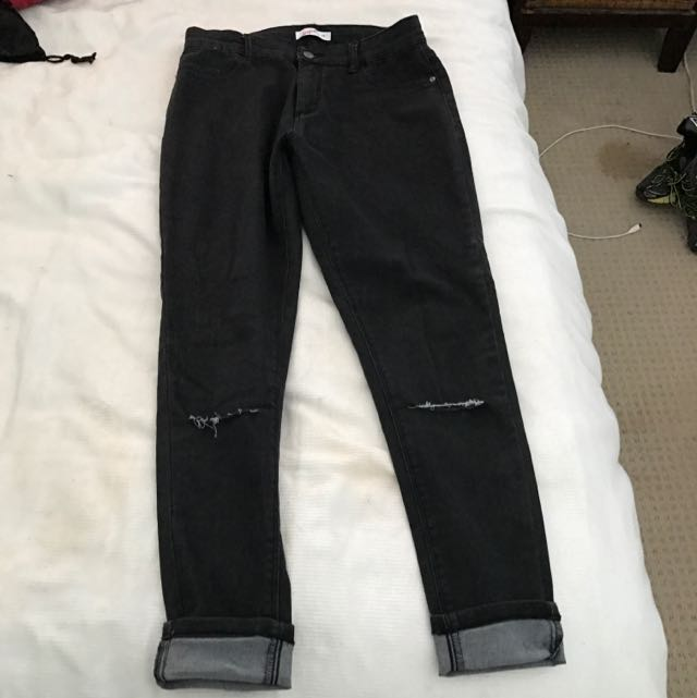 Supre Jeans. Knit Cuts. Size 14.