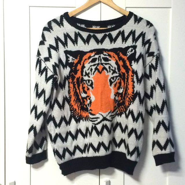 Sweater 老虎針織