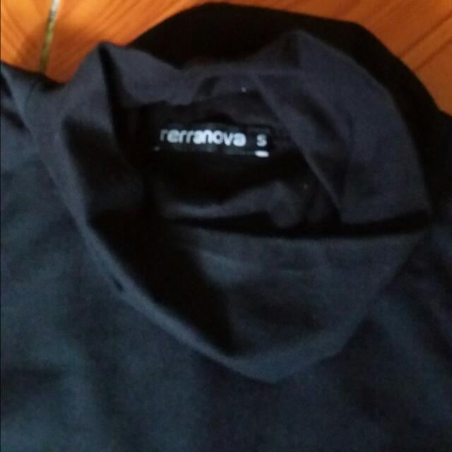 Repriced Terranova Turtle Neck Black Dress