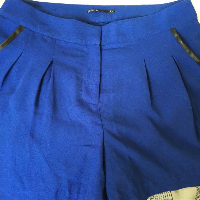 Tokito size 12 shorts!