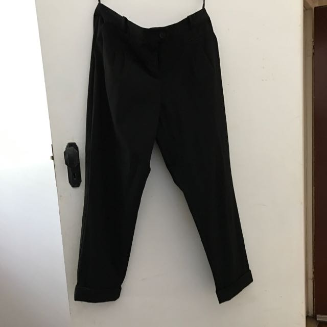 Topshop Tailored Worn Pants. Size 12.