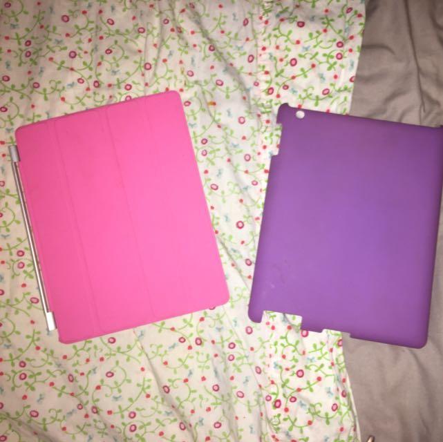 Two iPad 4 Covers ⭐️CHECK DESCRIPTION ⭐️