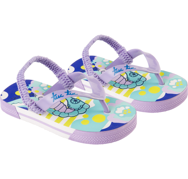 Under the sea flip flops - size 24