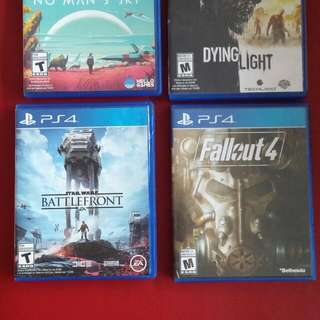 Fallout 4.  No Mans Sky And Star Wars Battlefront For Ps4