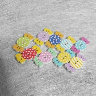 Candy Colour Sweet Brooches Hairclip Bookmarks Magnet