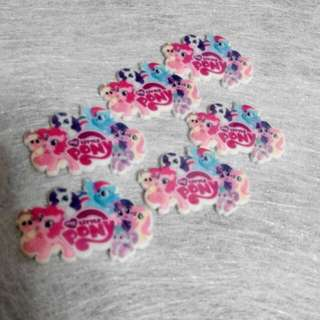 Little Pony Brooches Hairclip Magnet