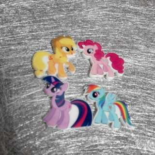 Little Pony Brooches Hairclip For Children  Magnet