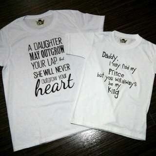 Daddy And Daughter Shirt