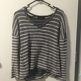 Knitted Long Sleeve Shirt From Glassons