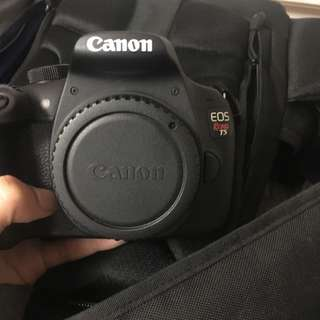 Selling Canon T5 And Lens