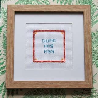 Handmade Cross Stitch