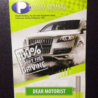 Car Insurance by People's General