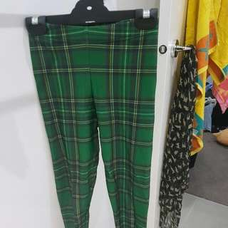 Size XS Black Milk Limited Edition Green Toasties Leggings RRP$100+