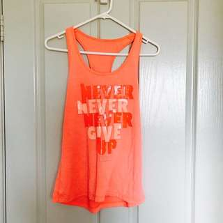 Lorna Jane Never Give Up Shirt