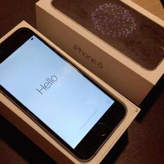 IPHONE 6 BLACK 16GB