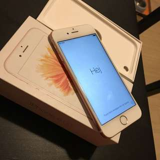 IPHONE 6S ROSE GOLDEN 16 GB