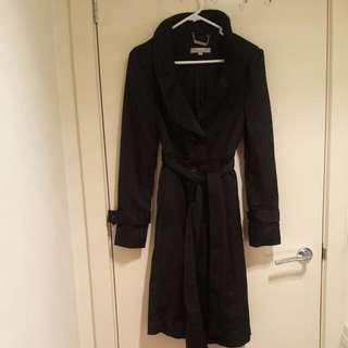 Black Trenchcoat Jacket