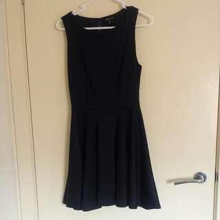 Navy Blue Forever 21 Dress