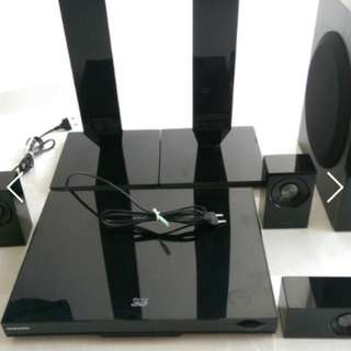 Samsung 3D BLU RAY WIRELESS HOME THEATER