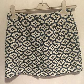 Topshop Size 10 Winter Mini Skirt