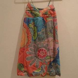 Colourful Patterned Summer Dress