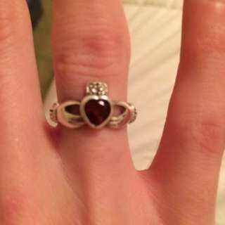 925 Sterling Silver Claddaugh Ring