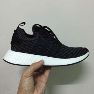 NMD R2 PK Black UK8