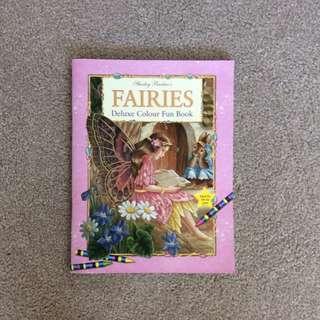 Fairies Deluxe Colour Fun Book