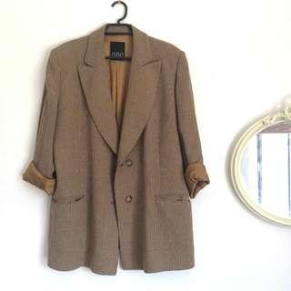 Vintage Boyfriend Suit Jacket