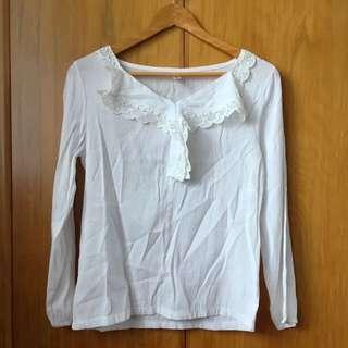 White Blouse Size M