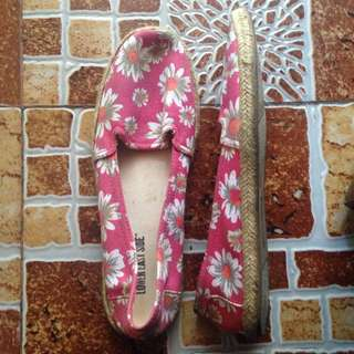 size 9 Lower East Side Floral Flats