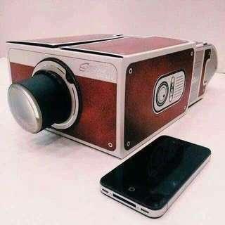 Vintage Camera Cellphone Projector