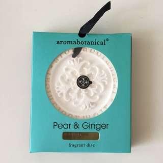 Aromabotanical Pear & Ginger Fragrant Disc