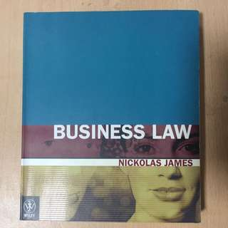 Business Law / Nickolas James textbook 1ed