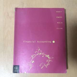 Financial accounting 7e / John Hoggett Textbook