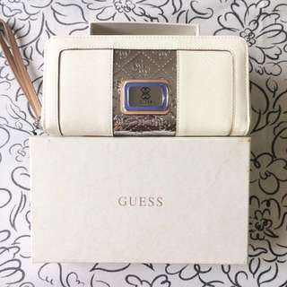 [REPRICE] Guess White Wallet