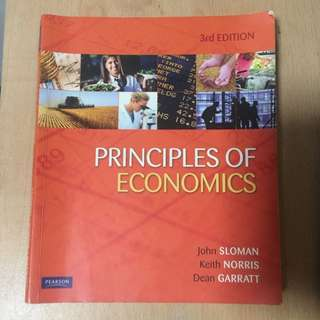 Principles Of Economy Textbook & Study Guide